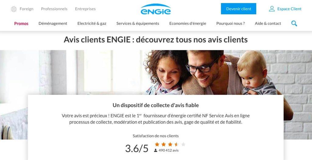 Quel est l'avis des clients Engie ?