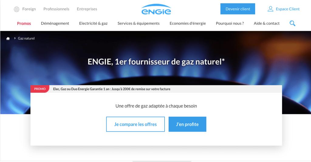 Avis Engie: Gaz Energie Garantie + Mon Pilotage