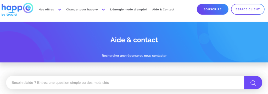 Avis Happ-e : service client